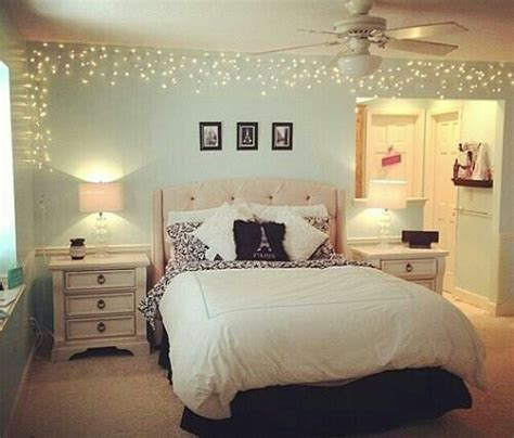 lights around bed 45 ideas to hang christmas lights in a bedroom shelterness