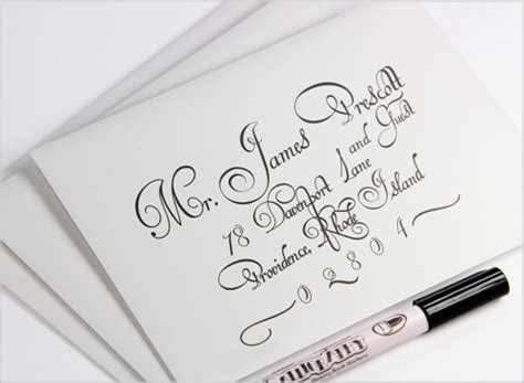 printing wedding invitation envelopes etiquette addressing wedding envelopes calligraphy or printing