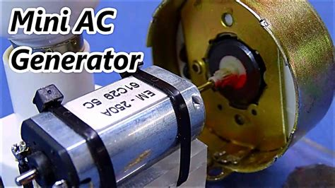 ac and dc motors dc motor to ac generator