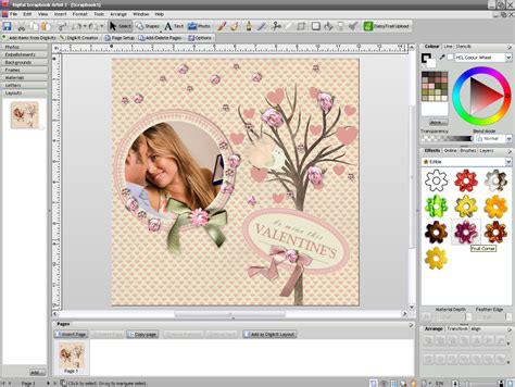 scrapbook layout software free digital scrapbook artist 2 graphic design software for pc