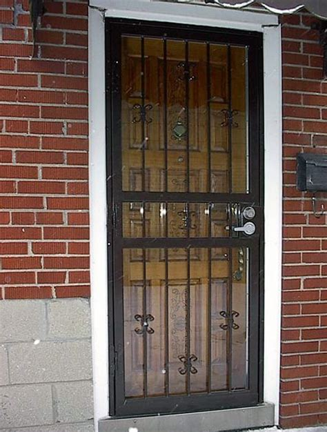 Decorative Security Doors by Security Screen Doors Security Screen Door Decorative