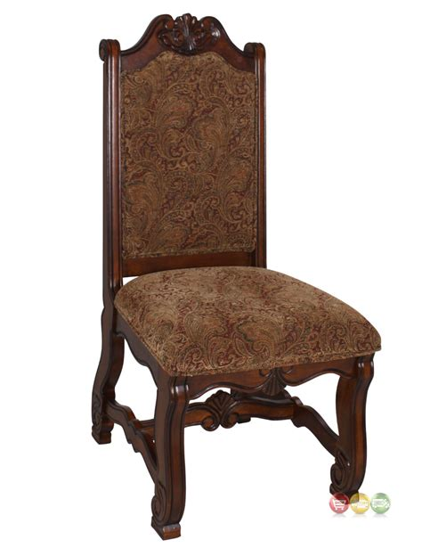 Dining Chairs Traditional Neo Renaissance Traditional Formal Dining Upholstered Side Chair Set Of 2