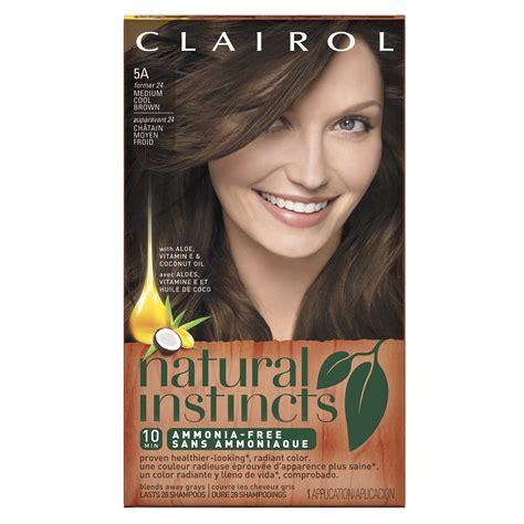 instinct hair color clairol instincts 4rr 20r