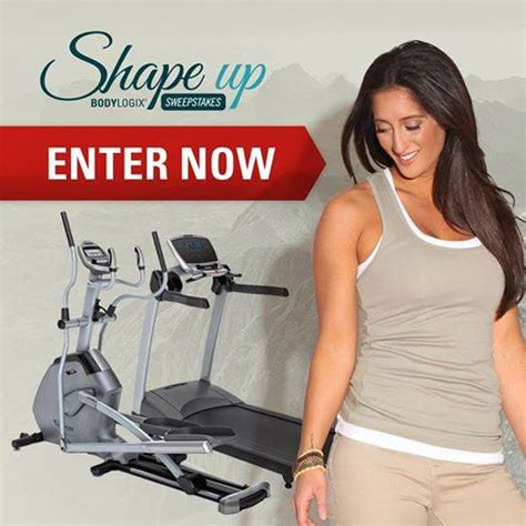 Shape Daily Sweepstakes - bodylogix shape up sweepstakes deals from savealoonie