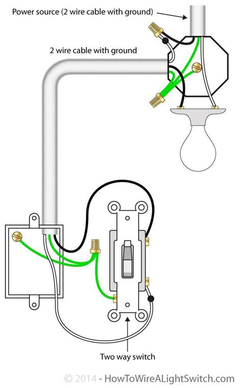 wiring diagram for light switch nz