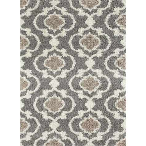 world rug gallery cozy moroccan trellis gray 7 ft
