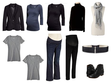 Maternity Capsule Wardrobe by Atelier Wardrobe Building Fall Maternity Capsule
