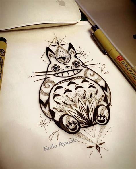 wrist tattoo sketches totoro bookings kinkiryusakistudio kinkiryusaki