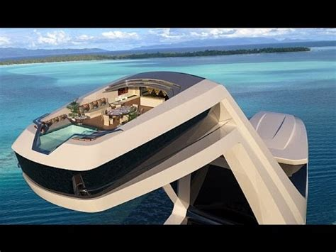 interno yacht shaddai superyacht concept features an elevated master