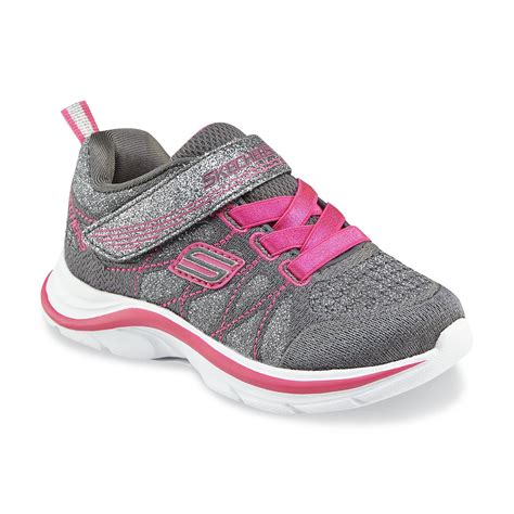 skechers toddler shoes skechers toddler s kicks gray pink athletic