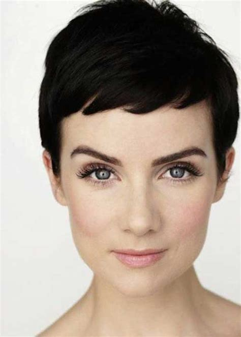 short cuts for dark thinning hair pixie haircuts for fine hair short hairstyles 2017