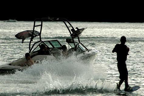 fishing boats you can ski behind wakeboard ski boats bass lake boat rentals