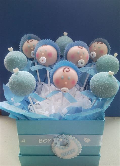 Boy Baby Shower Cake Pops by So Baby Shower Cake Pops Adorable Also A