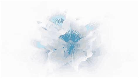 Abstrakt Blue Flower   Blumen Illustration Hintergrundbild