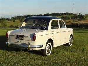 Fiat Millecento For Sale 1958 Fiat Millecento Berlina Bring A Trailer
