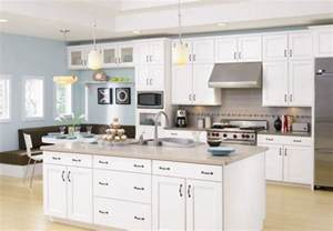 White Kitchen Wall Cabinets Kitchen Wall Color Design For White Kitchen Home The Inspiring