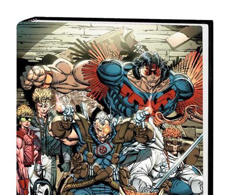deadpool x force omnibus 1302908308 x force omnibus hardcover comic books comics marvel com