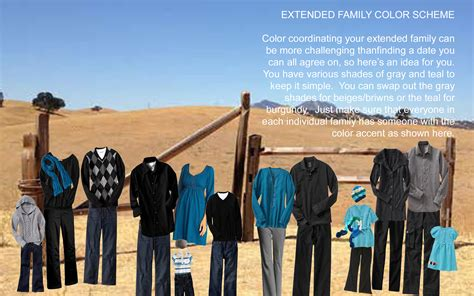family photo color schemes amazing design of family photo color schemes best home