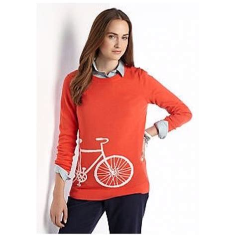 Sweater Rajut Crown Sweater Navy 63 crown sweaters crown orange bicycle sweater striped back from valentina s
