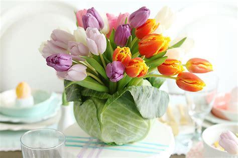Black Friday Home Decor Deals by Diy Tulip Cabbage Flower Arrangement For Easter Darling