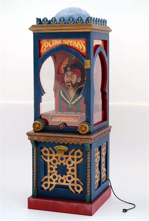 Zoltar A Novelty That Tells Your Fortune And Costs A Small Fortune by Figure Scale Zoltar Machine From The Quot Big Quot