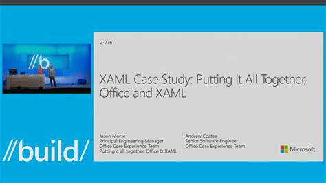 Putting It Together Studyworkroom by Xaml Study Putting It All Together Office And Xaml