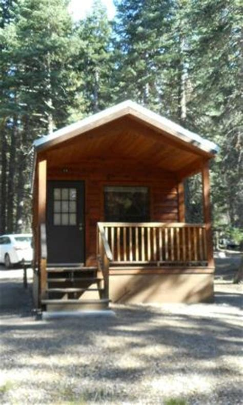 view of porch picture of manzanita lake cing cabins