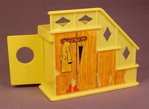 Fisher Price Door by Fisher Price Vintage Yellow 3 Step Staircase With Closet