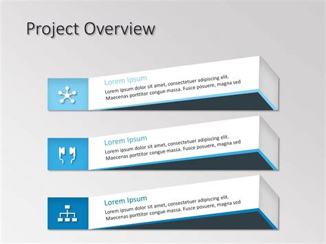 Project Overview Powerpoint Template Slideuplift Project Overview Template Powerpoint