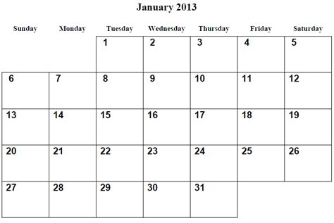 printable quarterly calendar 2013 9 best images of 2013 printable calendar by month