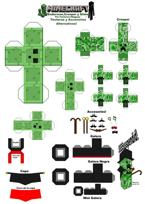 minecraft papercraft templates the gallery for gt minecraft papercraft skins template