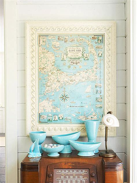 Decorating With Aqua | from navy to aqua summer decor in shades of blue