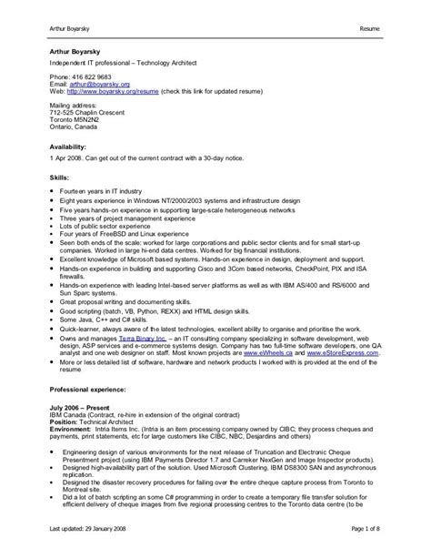 resume sle free sle resume in ms word format free free sle of resume in