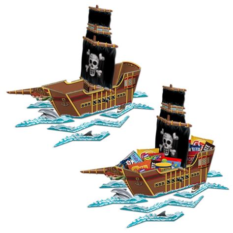 pirate ship centerpiece partycheap