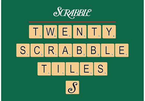 is ai a word in scrabble scrabble tiles vector free free vector