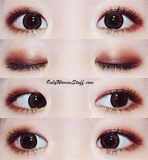 Eyeshadow Orang Korea 25 easy monolid eye makeup tips ideas with pictures