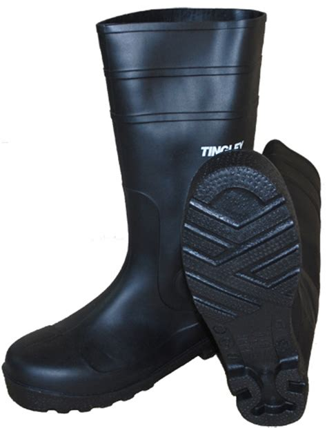 steel toe rubber work boots tingley economical steel toe pvc rubber work boots 31251
