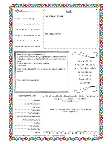 book journal template printable free journal templates travel journals continental