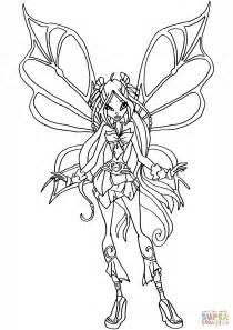 flora sophix coloring page free printable coloring pages