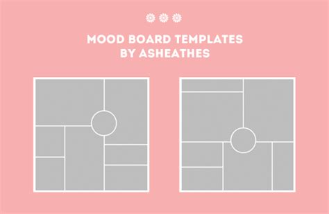 Neither Pity Nor Pragmatism Mood Board Illustrator Template