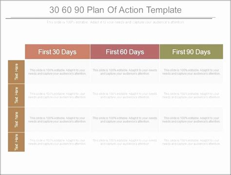 100 day plan template document exle 100 day plan template document exle 28 images 100 day