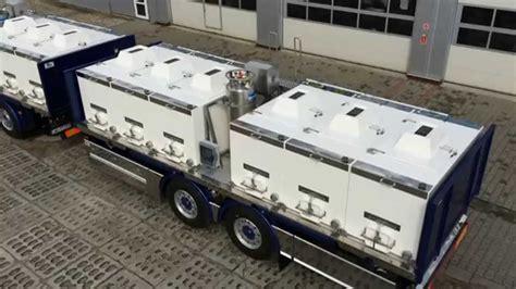 Mainan Truck Container Aquarium fish transporting tanks fish seafood live transport