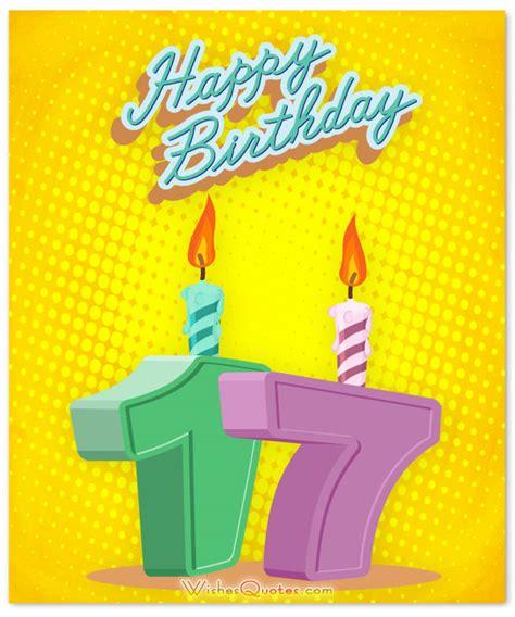 Happy Birthday Wishes For 17 Year Heartfelt 17th Happy Birthday Wishes And Images