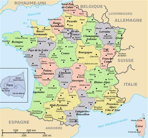 provence france map free printable maps map of france arts et voyages
