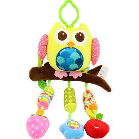 comfort toys 40cm cute owl newborns baby plush toys early education