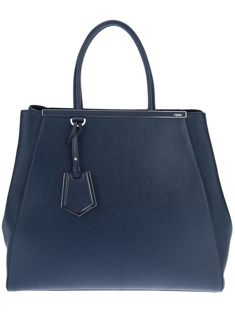 Fendi 2 Jourius by Fendi 2 Jours Tote In Blue Lyst