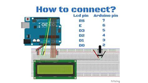 arduino tutorial  lcd display youtube
