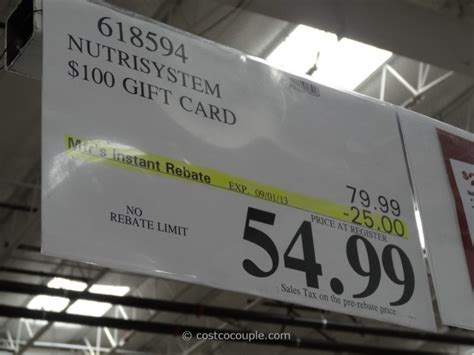 Southwest Gift Card Costco - discount nutrisystem gift cards coupon for nutrisystem