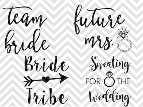 Wedding Font Silhouette by 25 Best Ideas About Silhouette Cameo Wedding On