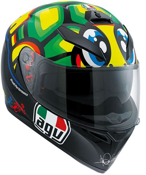 Helm Agv K3 Sv Tartaruga valentino agv k3 sv tartaruga turtle helmet replica race helmets